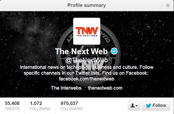 The Next Web: @TheNextWeb