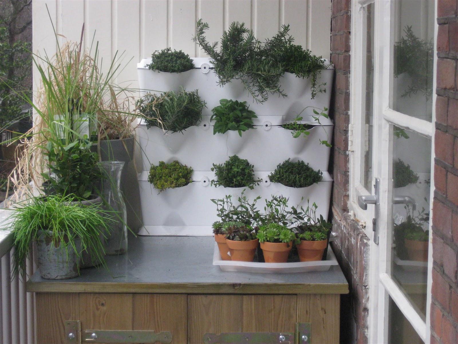 Tuinieren Op Balkon : Aan tafel met tanja verticaal tuinieren