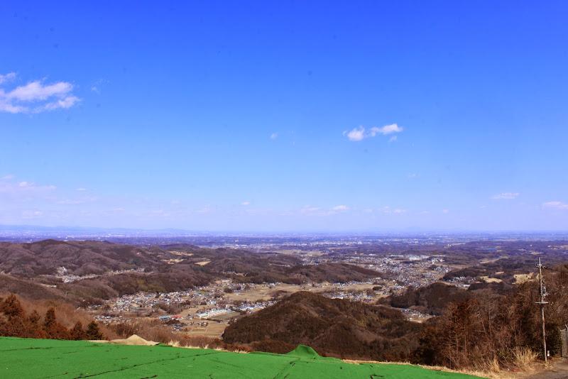 弓立山頂上からの眺望