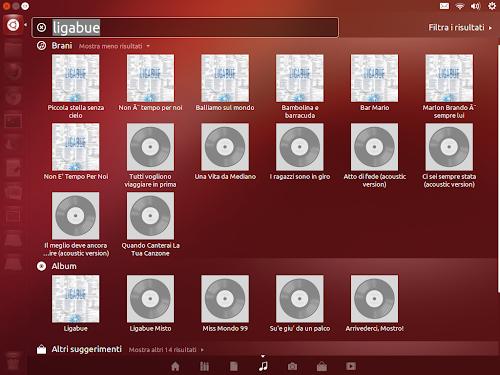 Unity Grooveshark su Ubuntu 12.10