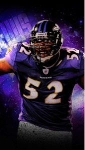 Ray Lewis iPhone 5 Wal...