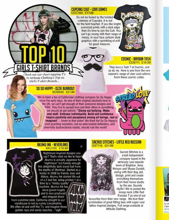 attitude magazine, attitude clothing
