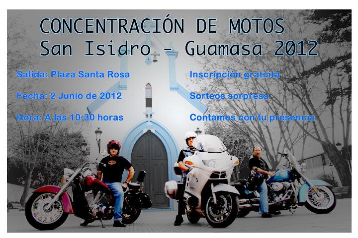 CONCENTRACIÓN MOTERA/RUTA GUAMASA SABADO 2 DE JUNIO Cartel