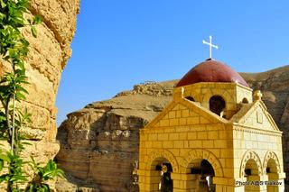 Вади Кельт. Монастырь Георгия Хозевита. Экскурсия Монастыри Иудейской пустыни. Гид в Израиле Светлана Фиалкова.