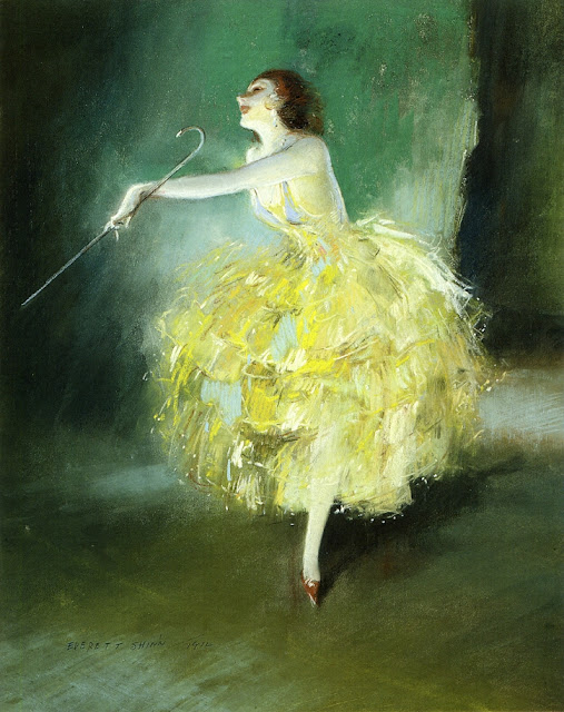 Everett Shinn - Vaudeville Dancer