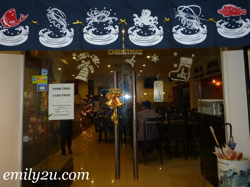 Taro Restaurant - Japanese Fusion Buffet