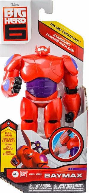 """Anh hùng Baymax Big Hero 6 loại 6"""" mặc áo giáp sắt màu đỏ"""