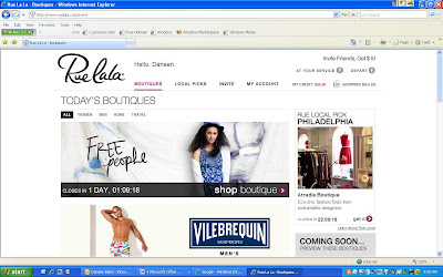 Join Rue La La and Get $10 Credit!