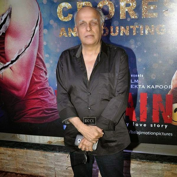 Mahesh Bhatt during the success party of Bollywood movie 'Ek Villain', held at Ekta Kapoor's residence on July 15, 2014.(Pic: Viral Bhayani)
