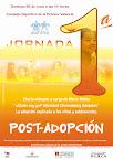Cartel realizado para Andeni Valencia con motivo de la Jornada post-adopción