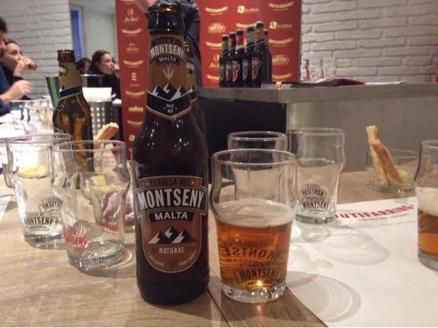 Cerveza Montseny Malta