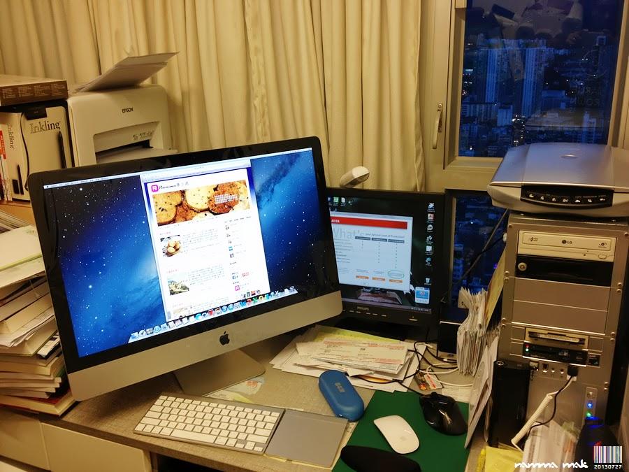 將 PC 的資料轉移到 iMac 的過渡