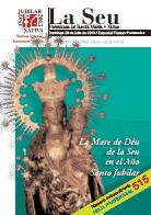 Hoja Parroquial 515. La Mare de Deu en el Año jubilar. 600 aniversario de la erección de la Iglesia Colegial Basílica de Santa María de Xàtiva
