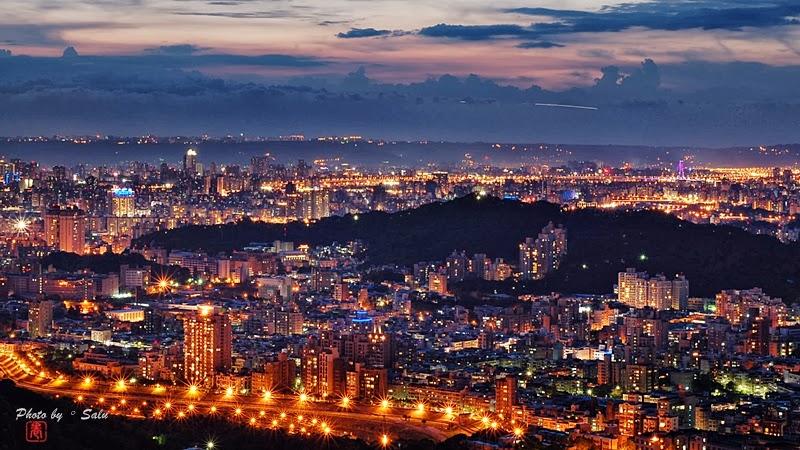 台北 貓空 樟山寺 夜景 101 攝