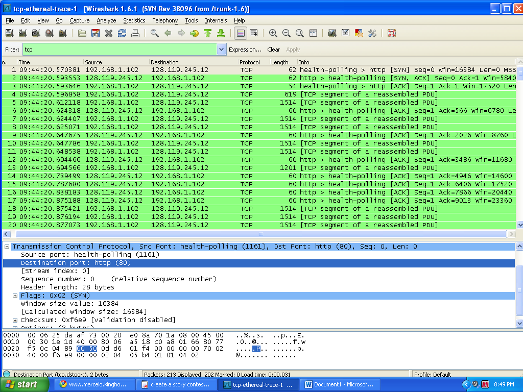 lab 2 6 2 using wireshark Lab – using wireshark to examine ethernet frames part 2: use wireshark to capture and analyze ethernet frames using wireshark to examine ethernet frames.