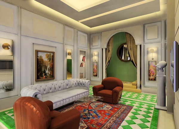 Royal Mix Of Traditional Styles The Kingold Demo Apartment In China Home Design And Decor Reviews