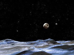 ¿Cuantas lunas tiene el antiguo planeta Plutón?