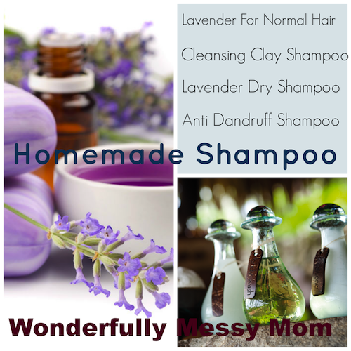 Homemade Shampoo and Conditioner by Wonderfully Messy Mom