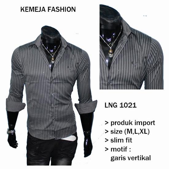 Cari Kemeja Kantor Fashion Pria - LNG 1021