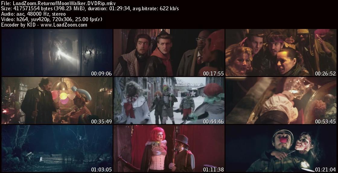 movie screenshot of The Return of the Moonwalker fdmovie.com