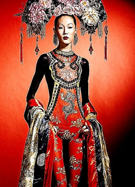 GoodMorningPicture Body Art  CHINESE EMPRESS  LouLou39 Star Fashions