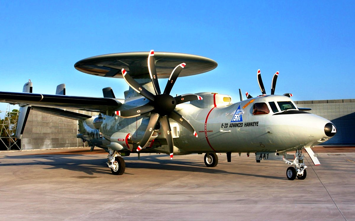 E-2 Hawkeye Aircraft Wallpaper 3