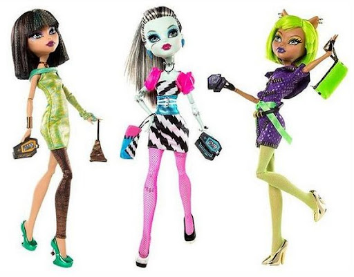 Dawn of the Dance (I): Frankie, Clawdeen y Cleo