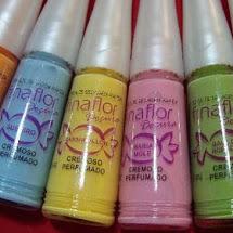Esmaltes perfumados FinaFlor