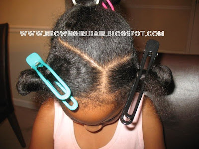 natural hair, hairstyle for girls, ponytail, cornrows, tutorial