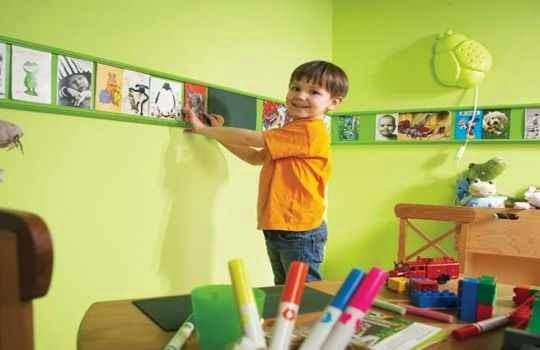 Dejar que los niños  se encargen de la decoracion de la fiesta