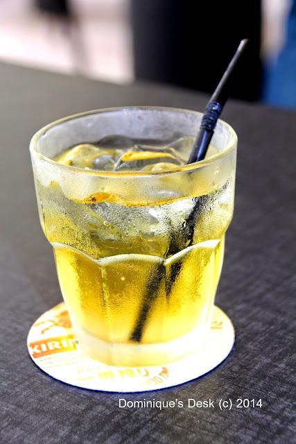Ice Cold Apple Juice