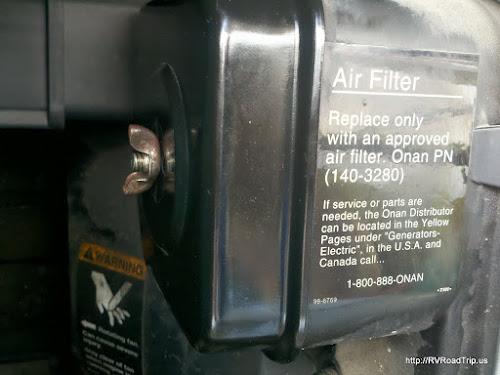 Air filter housing.