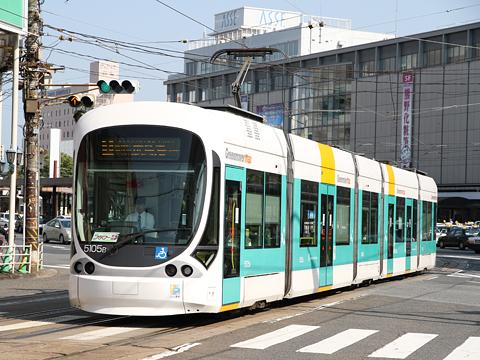 広島電鉄 5105形「グリーンムーバーmax」
