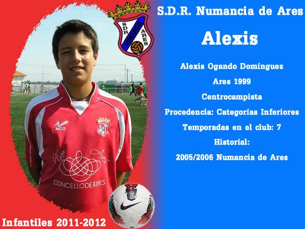 ADR Numancia de Ares. Infantís 2011-2012. ALEXIS.