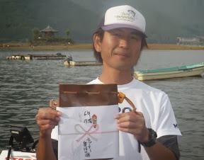 年間6位 上野敏宏プロ 別途表彰