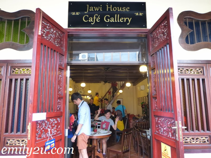 Jawi House Café Gallery, Penang