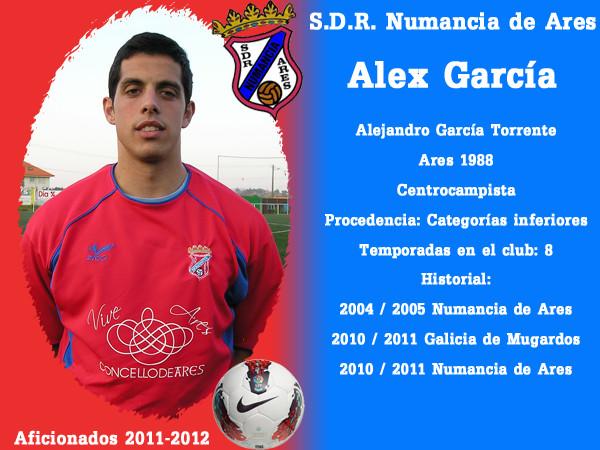 A.D.R. Numanciad de Ares. Alex García.
