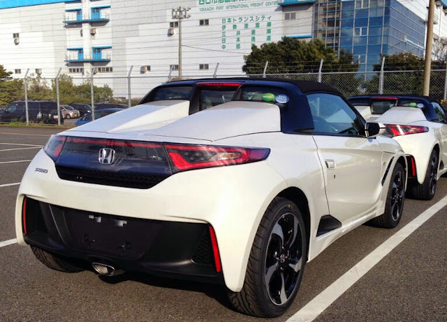 New Honda S660 Roadster Scooped Undisguised In Production Form