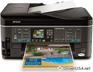 download Epson WorkForce 635 printer's driver