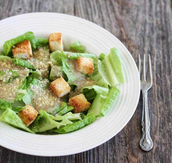photo of a Caesar Salad