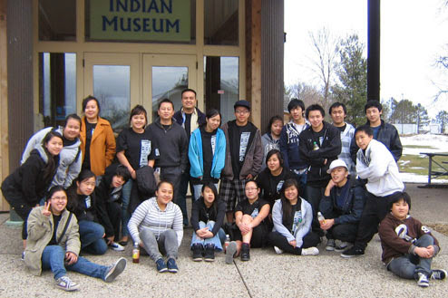 Hmong youth learn Native American culture: Similarities, Ojibwe, Hmong