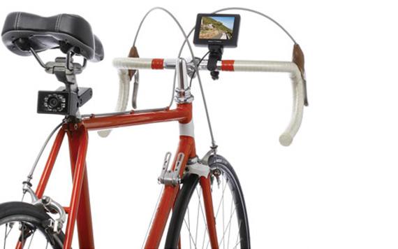 Una cámara de visión trasera para tu bicicleta
