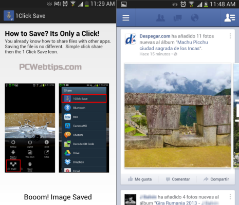 how to go invisible on face book android