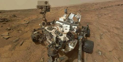 Curiosity Rover Out Of Safe Mode
