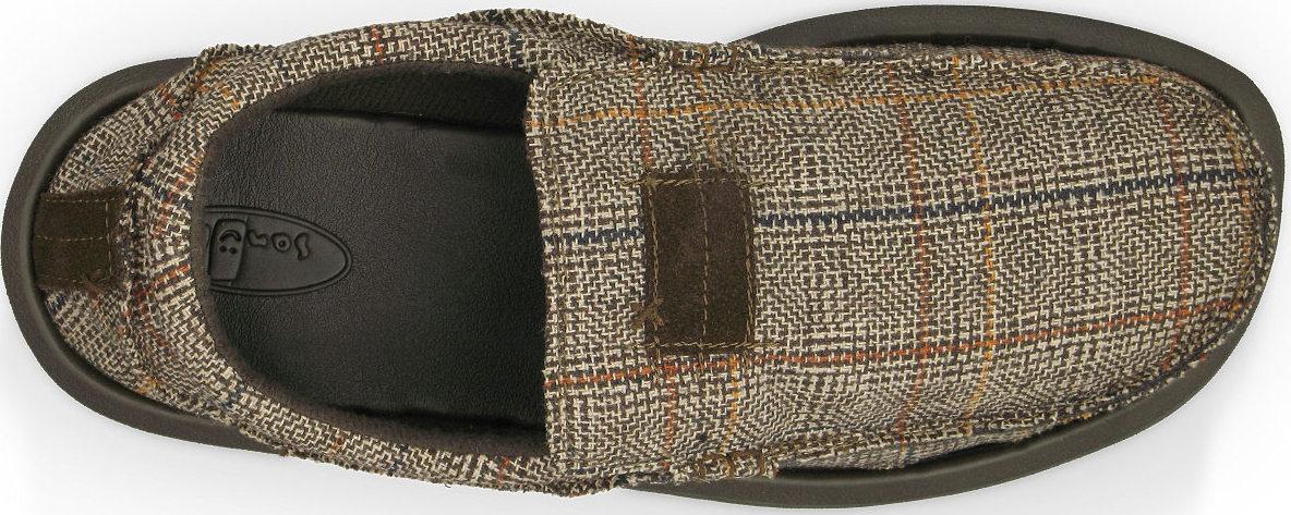 *SANUK蘇格蘭格紋:KYOTO DEAN寬版懶人鞋推出Glen Check版本 2
