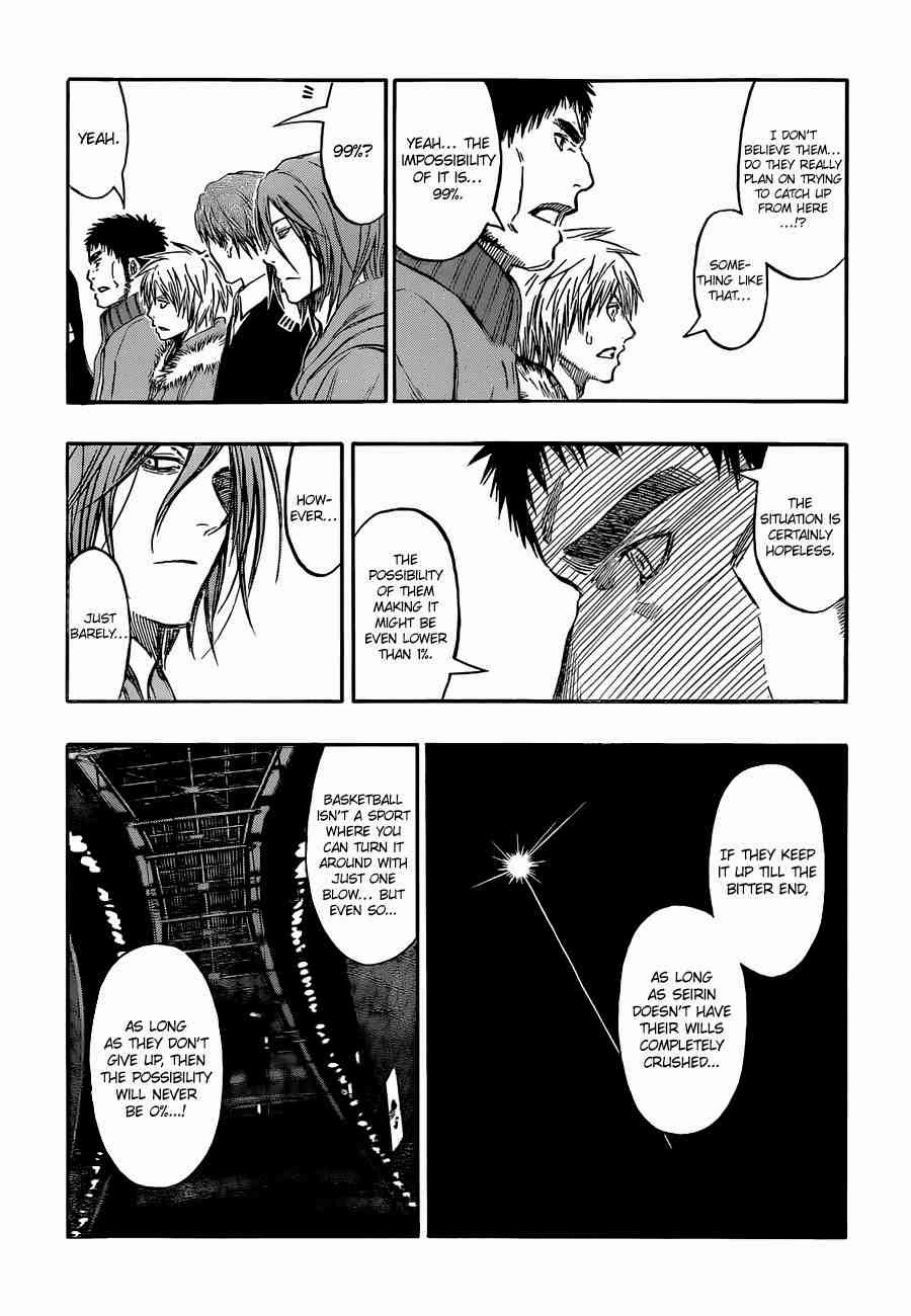 Kuroko no Basket Manga Chapter 246 - Image 14