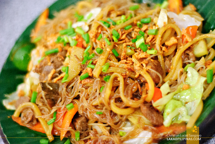 Batangas' Pancit Langlang at Pasig's Pancit Center