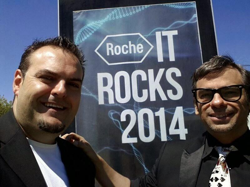 Alfonso V e Iván Santacruz en Roche 2014