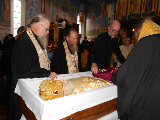 Picture from Mon service for +Archbisop Dimitri