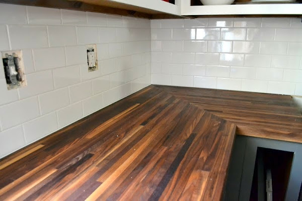 Butcher Block Countertops Price : How to Protect Butcher Block Counters During Projects - The Ugly ...